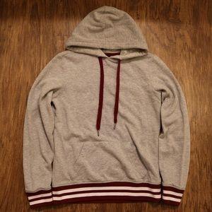 zumiez zine finn grey hoodie